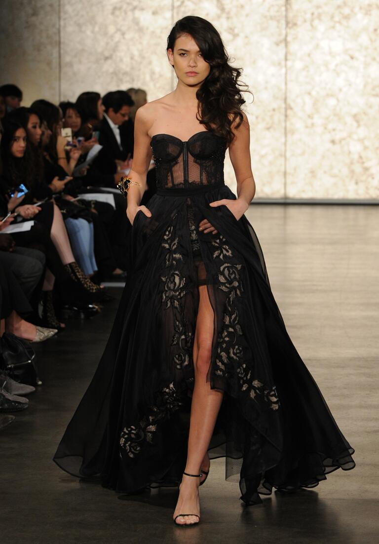 history of black wedding gowns black wedding dress Black Lace Wedding Dress Po Al The Fashions Of Paradise