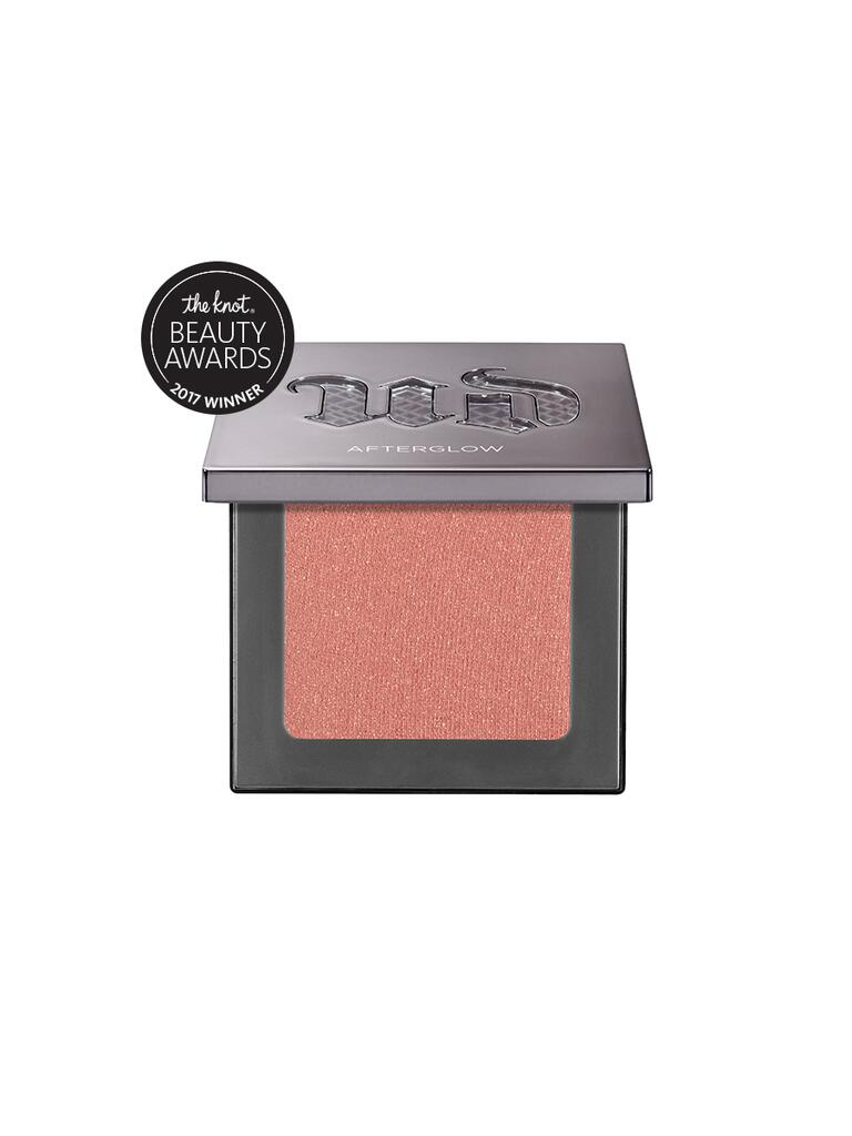 The Knot pick for best blush is the Urban Decay Afterglow 8-Hour powder blush