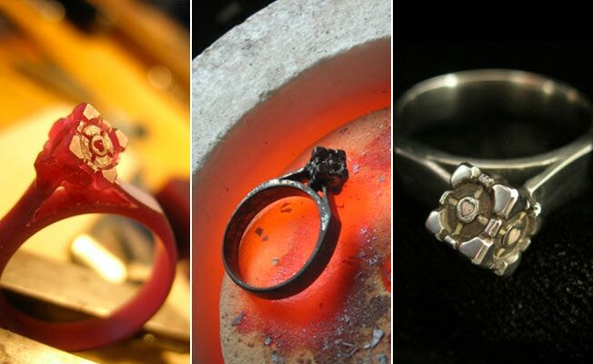 Yep A Video GameInspired Wedding Ring
