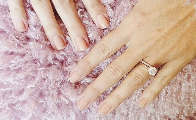 lauren conrad see a photo of her wedding ring set and manicure - Lauren Conrad Wedding Ring
