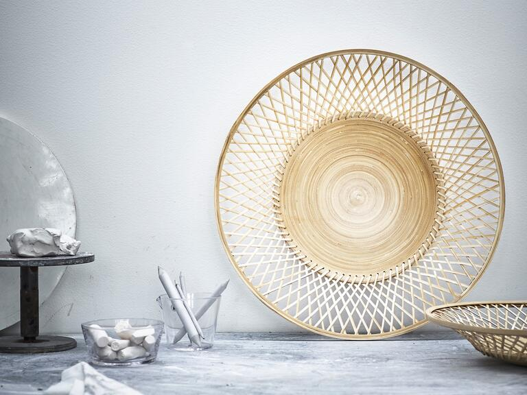 New handwoven bowl from Ikea's new VIKTIGT collection