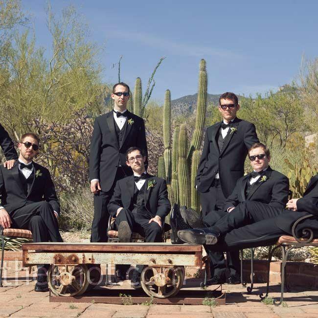 Wedding Invitations Tucson: A Relaxed Courtyard Wedding