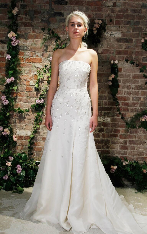 Jenny packham fall 2016 collection wedding dress photos for Valentino short wedding dress