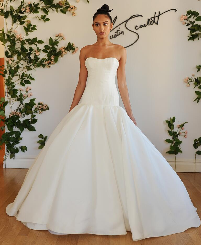 austin scarlett fall 2016 collection wedding dress photos