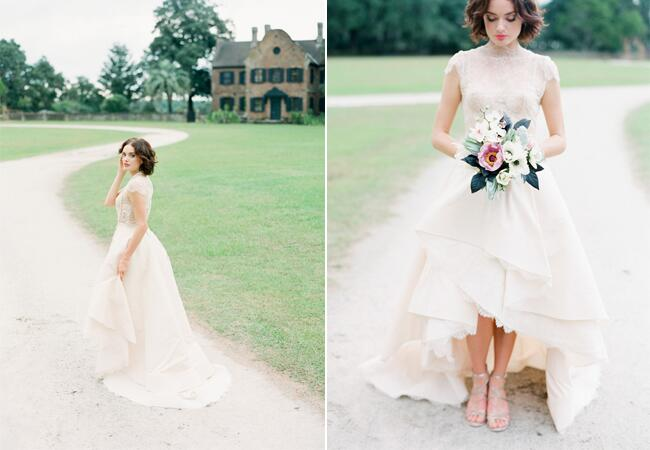 Dress: Rivini // Featured: The Knot Blog