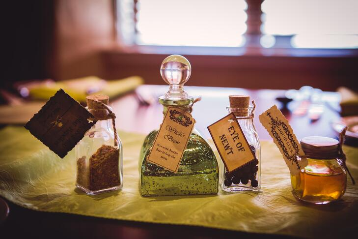Décor de potions de Harry Potter