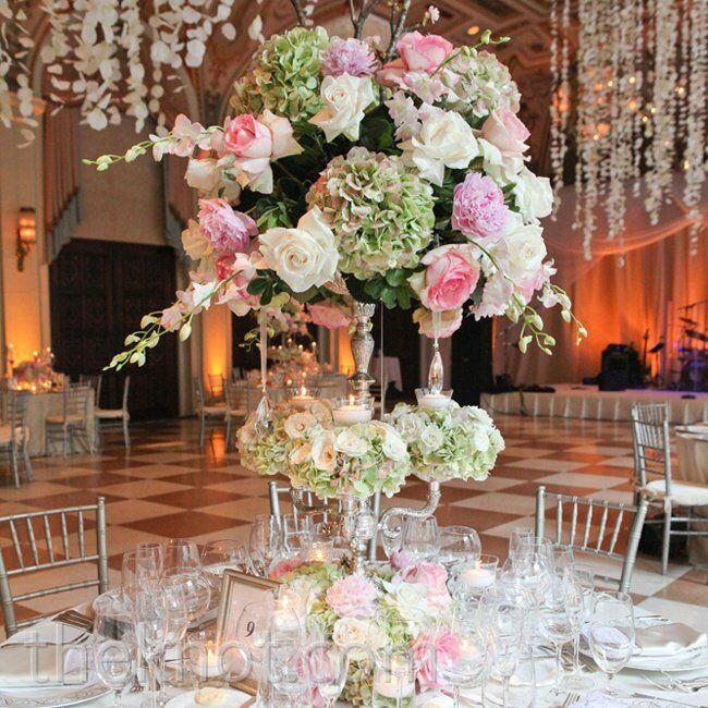Real Fairytale Weddings Silver Spring Md: A Pink Wonderland Wedding In Palm Beach, FL