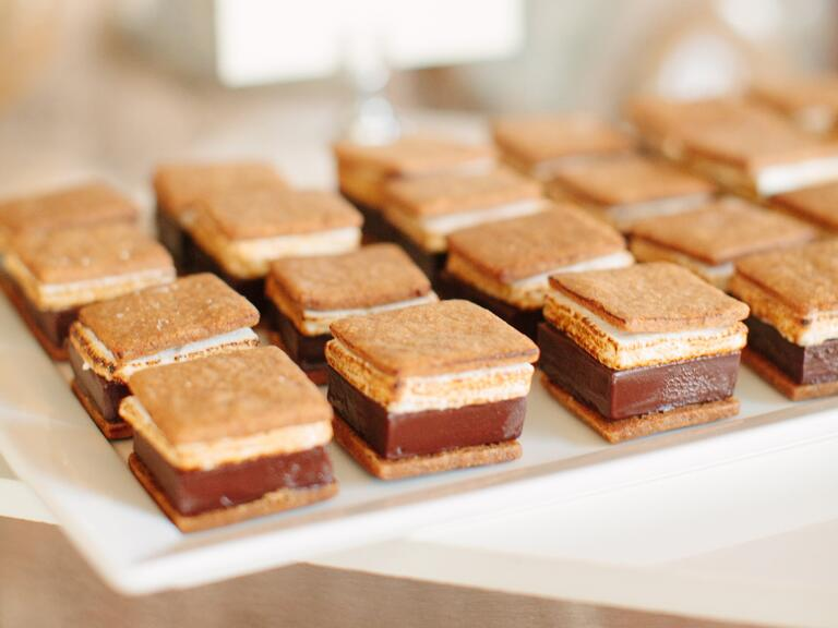 s'mores wedding dessert