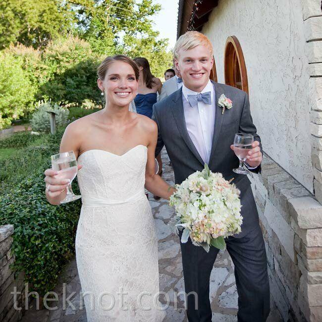 A Casual Vineyard Wedding In Marble Falls Tx