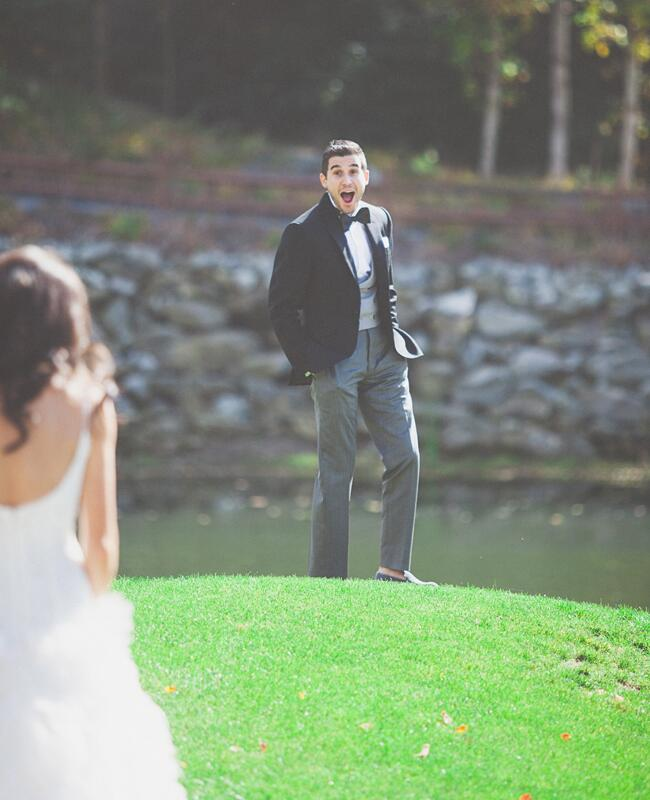The First Look | The Shultzes | The Knot Blog