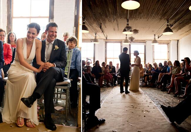 Photo by: Bonnie & Lauren/The Knot