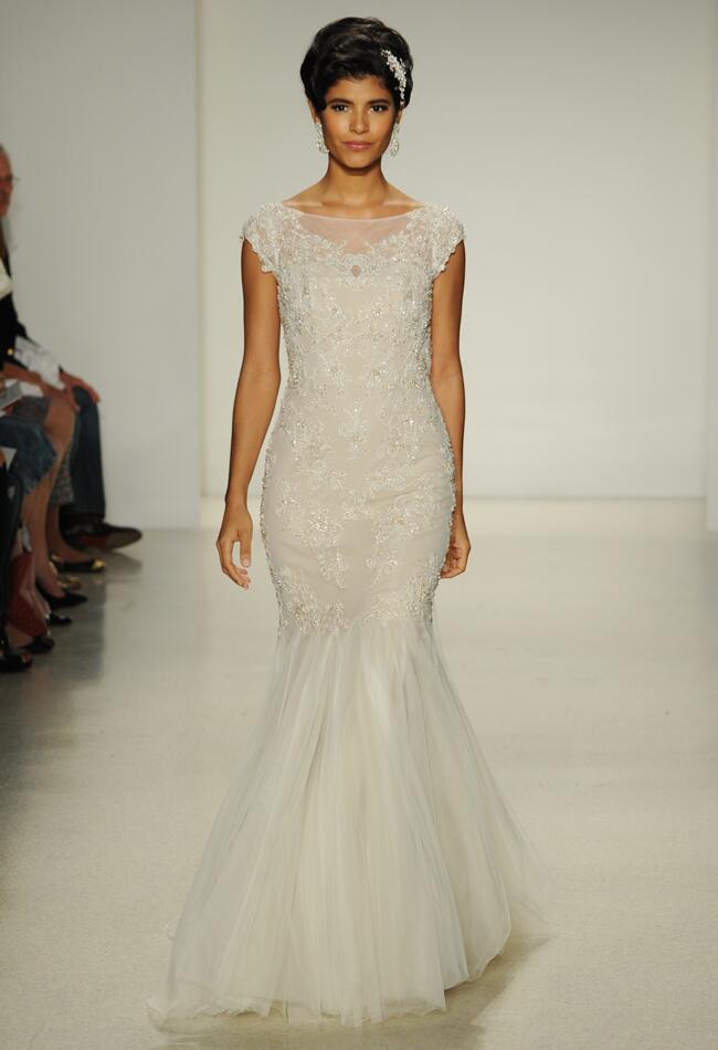 Alfred angelo wedding dresses illustrate modern vintage for Antique inspired wedding dresses