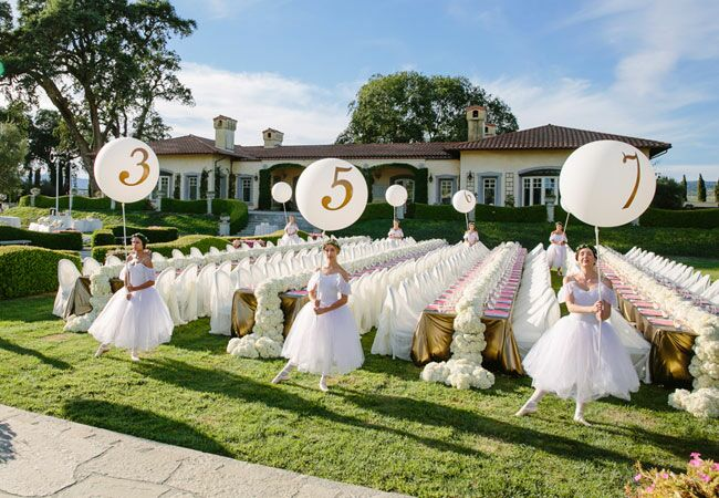 You Won\'t Believe This Over-the-Top Outdoor Wedding