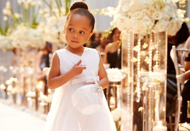 Cutest Wedding Kids // The Knot Blog