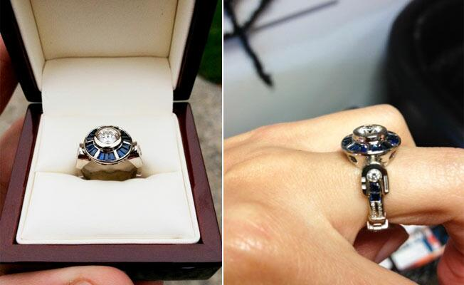 we love this ring - R2d2 Wedding Ring