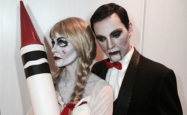 celebrity couple halloween costumes from 2014 photos