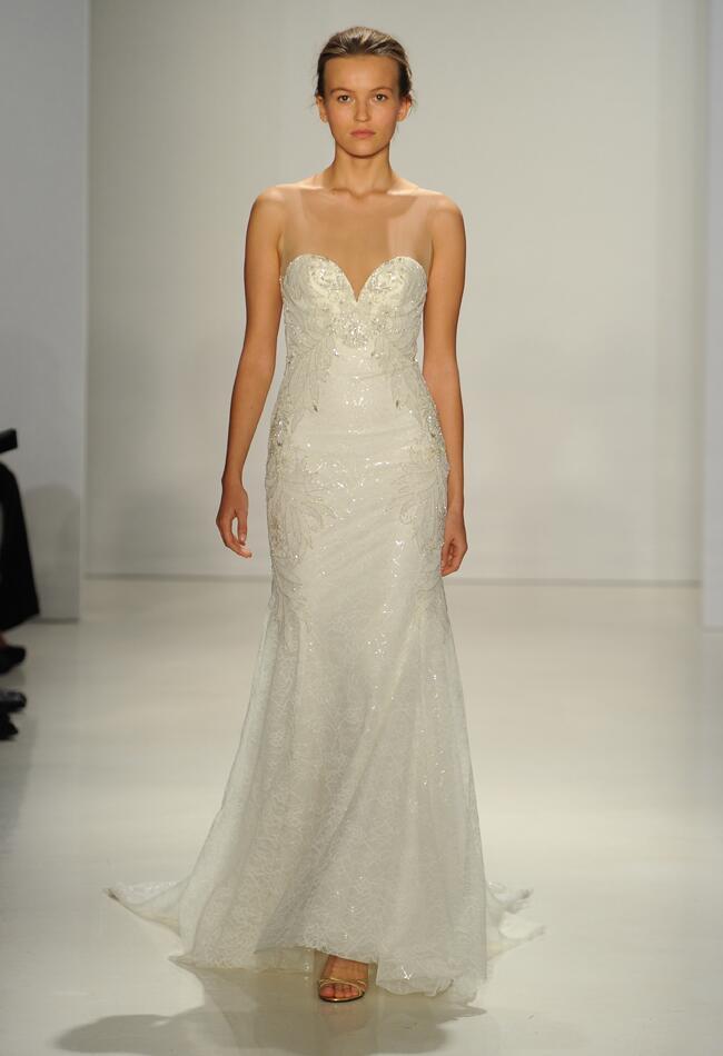 Kenneth Pool 2015 Wedding Dresses Demonstrate Romantic ...