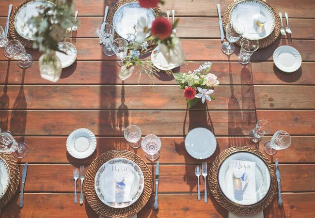 Organic Outdoor Rehearsal Dinner Style |<img class=