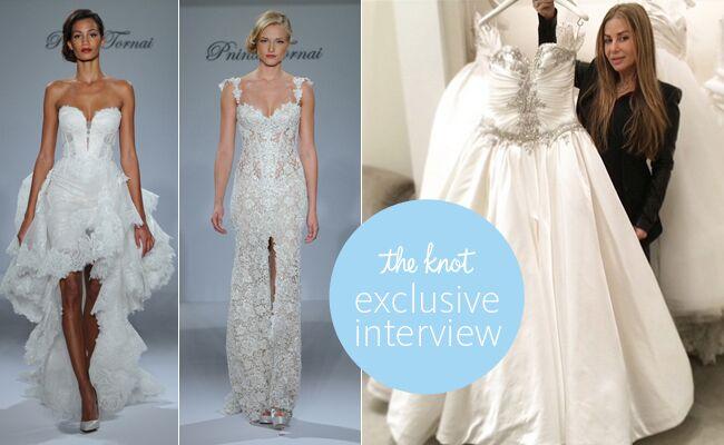 Pnina Tornai Designed a Wedding Dress For