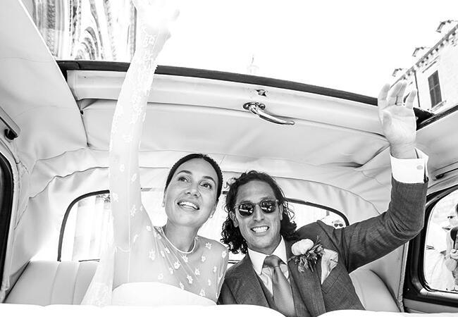 Fabiola Beracasa's wedding