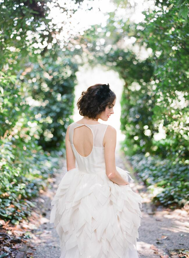 Dress: Elizabeth Stuart // Featured: The Knot Blog