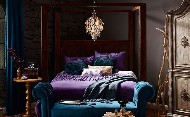 . Jewel Tone Bedroom  Give Your Bedroom The Royal Treatment With 15