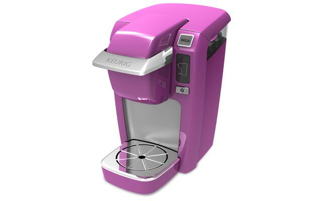 Keurig Radiant Orchid MINI Plus Brewer / The Knot blog