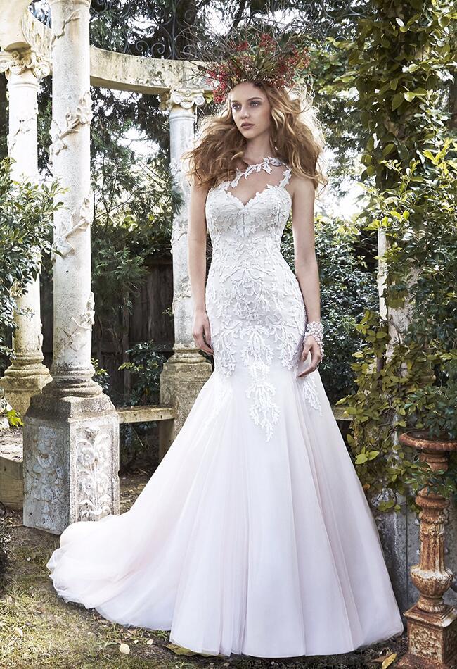Desiree Hartsock ceremony wedding dress