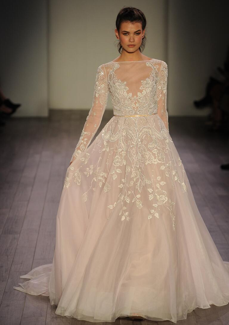 Hayley paige fall 2016 collection wedding dress photos for Hayley paige wedding dress