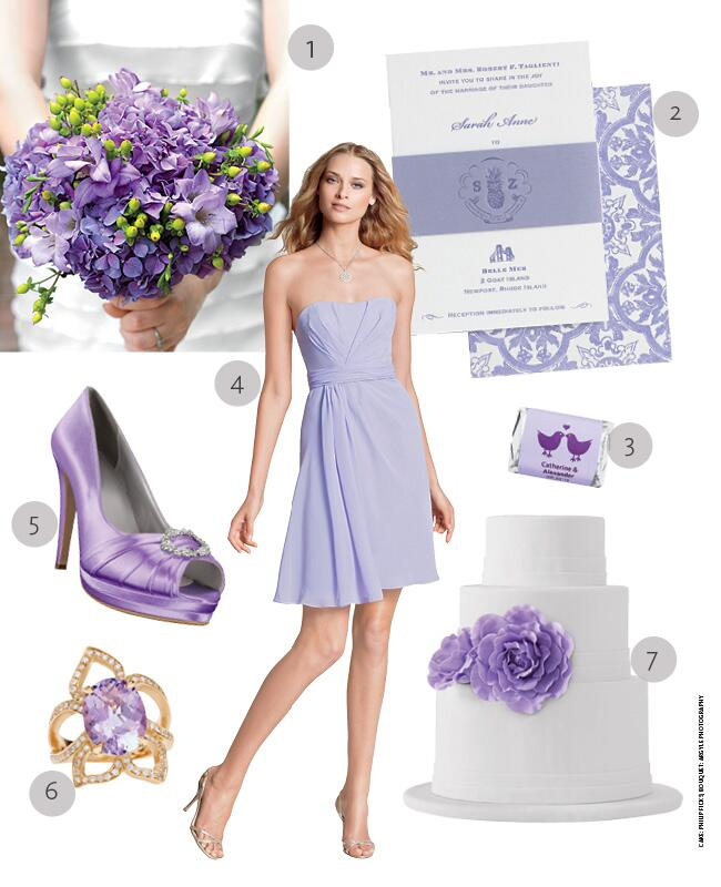 Lovely Lavender Wedding Ideas