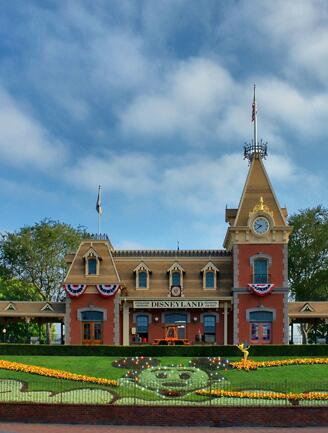 Main Street U.S.A.'s Train Station