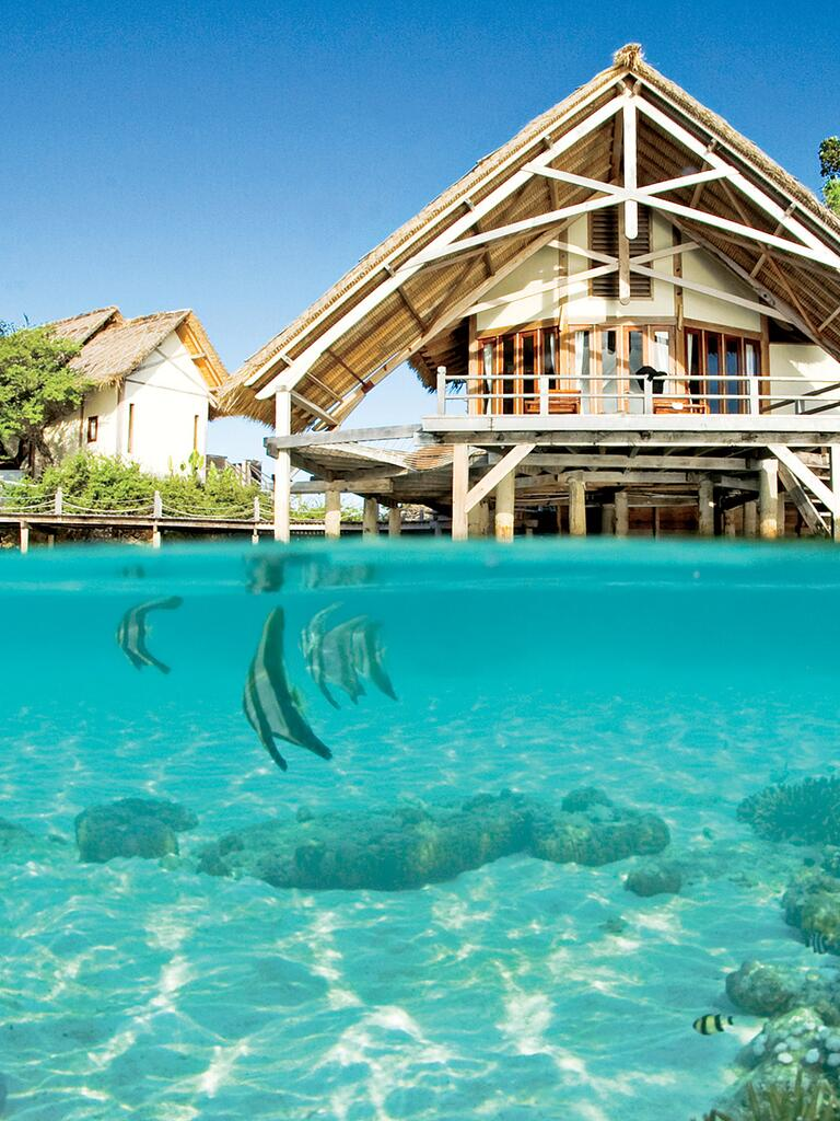 Raja Ampat honeymoon idea