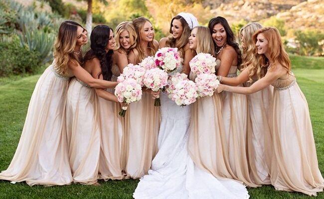 See Scheana Maries Wedding Ring and Bridesmaid Dresses