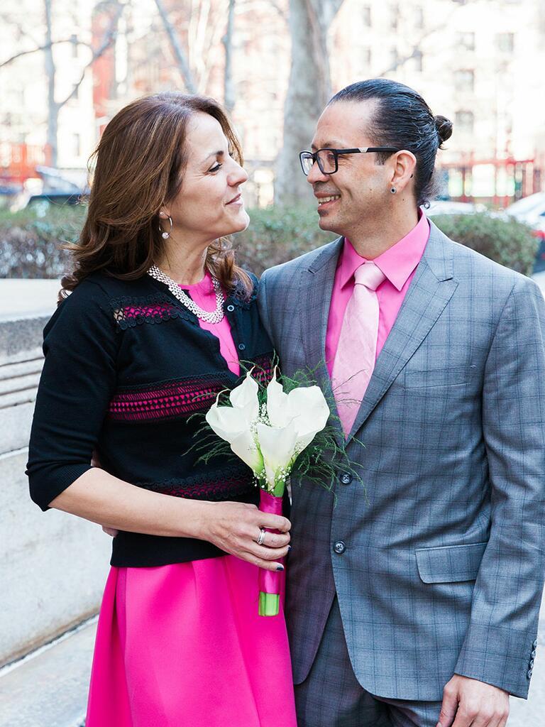 2017 Valentine's Day wedding in NYC