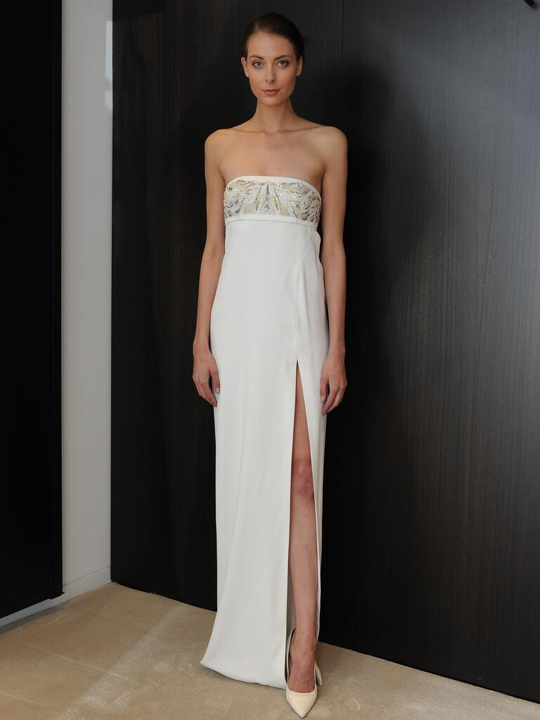 J mendel wedding dresses spring 2015 hit bridal fashion week for J mendel wedding dress
