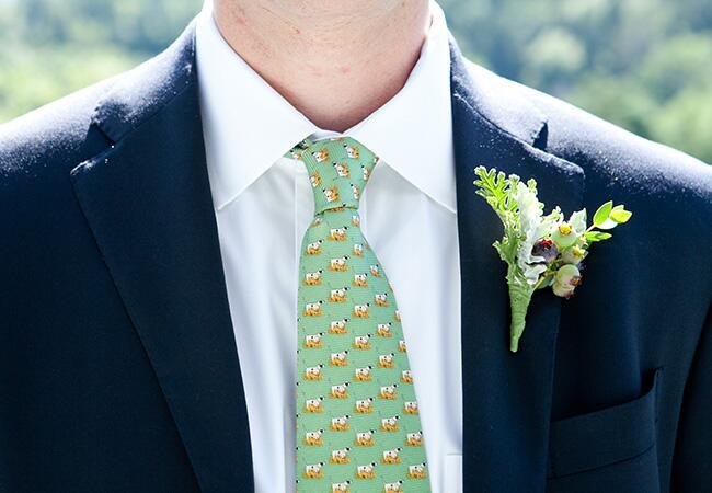 blueberry boutonniere |<img class=