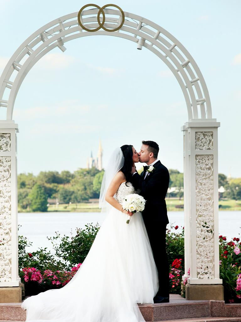 Picture Point for the perfect proposal location at Disney