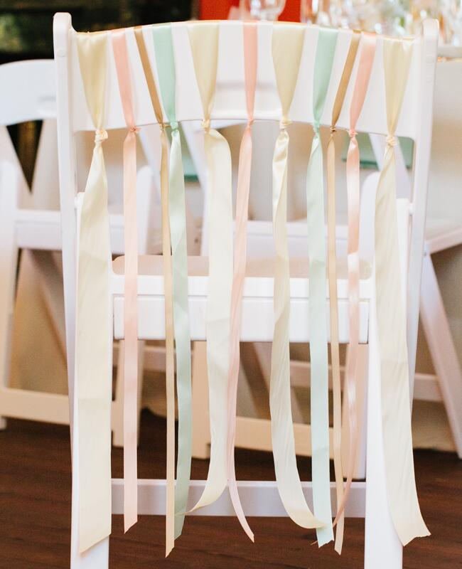 DIY ribbon wedding decor: Riverland Studios / TheKnot.com