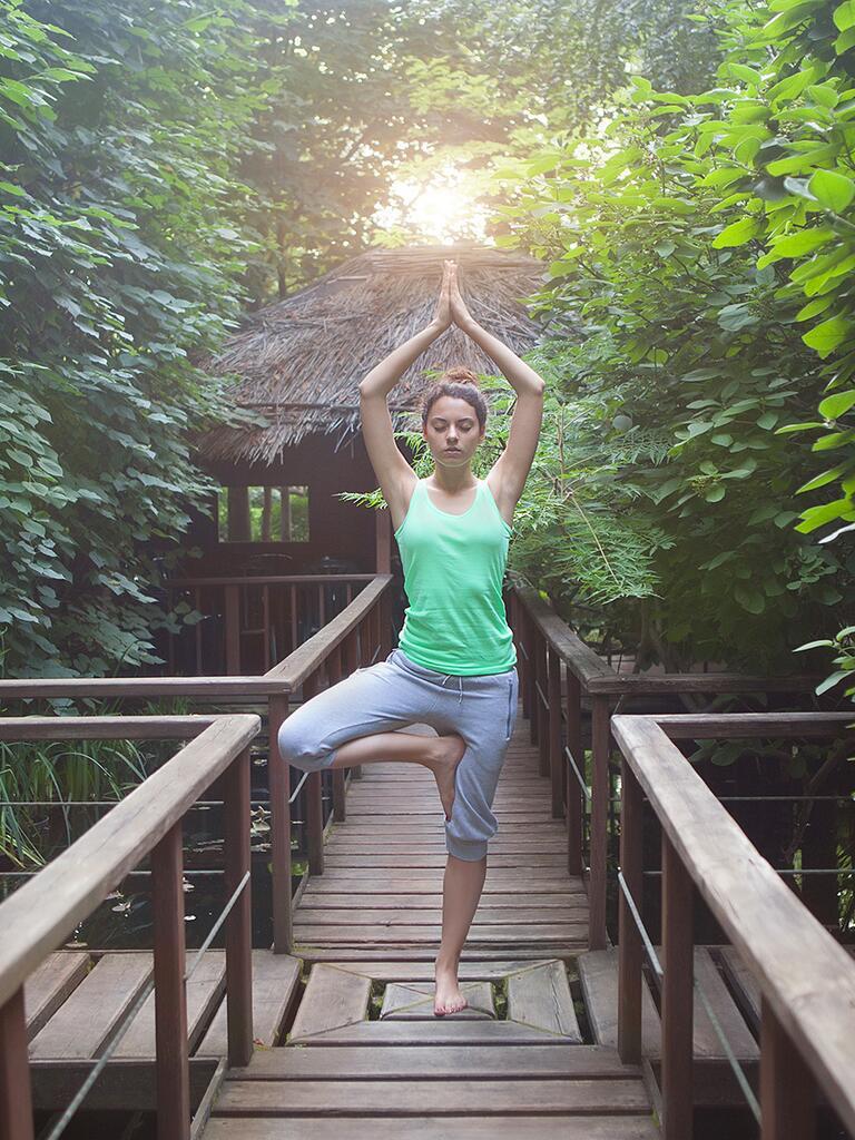 Yoga retreats idea for a vacation