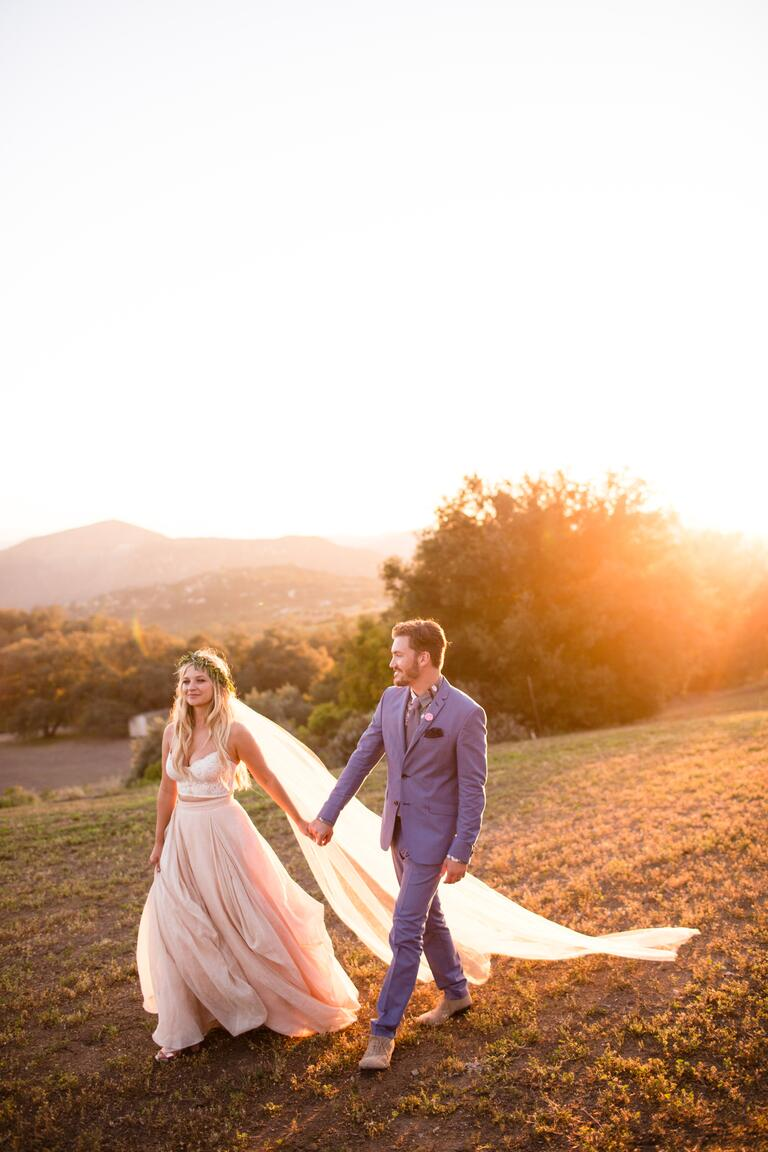 Vanessa Ray and Landon Beard's wedding