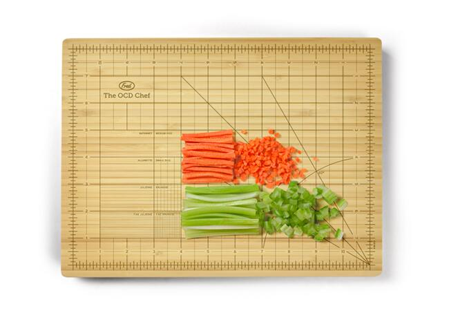 Fred The Obsessive Chef cutting board