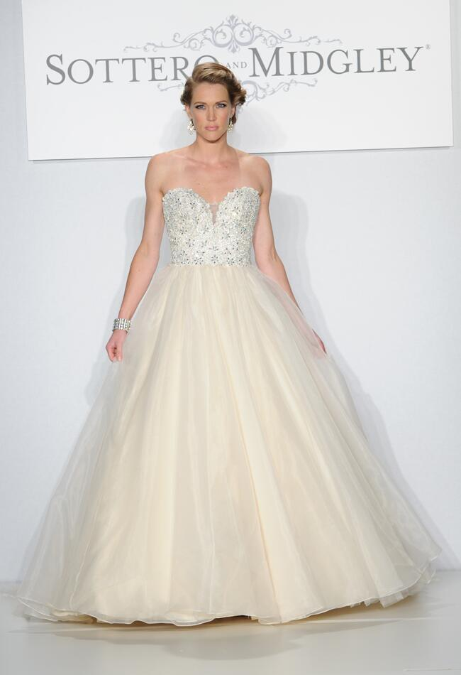 Sottero and Midgley Spring 2014 Wedding Runway Dresses from The Knot