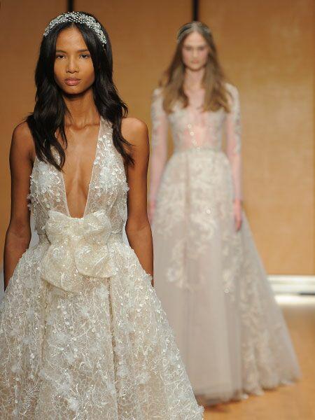 Inbal Dror Fall 2017 Collection: Bridal Fashion Week Photos