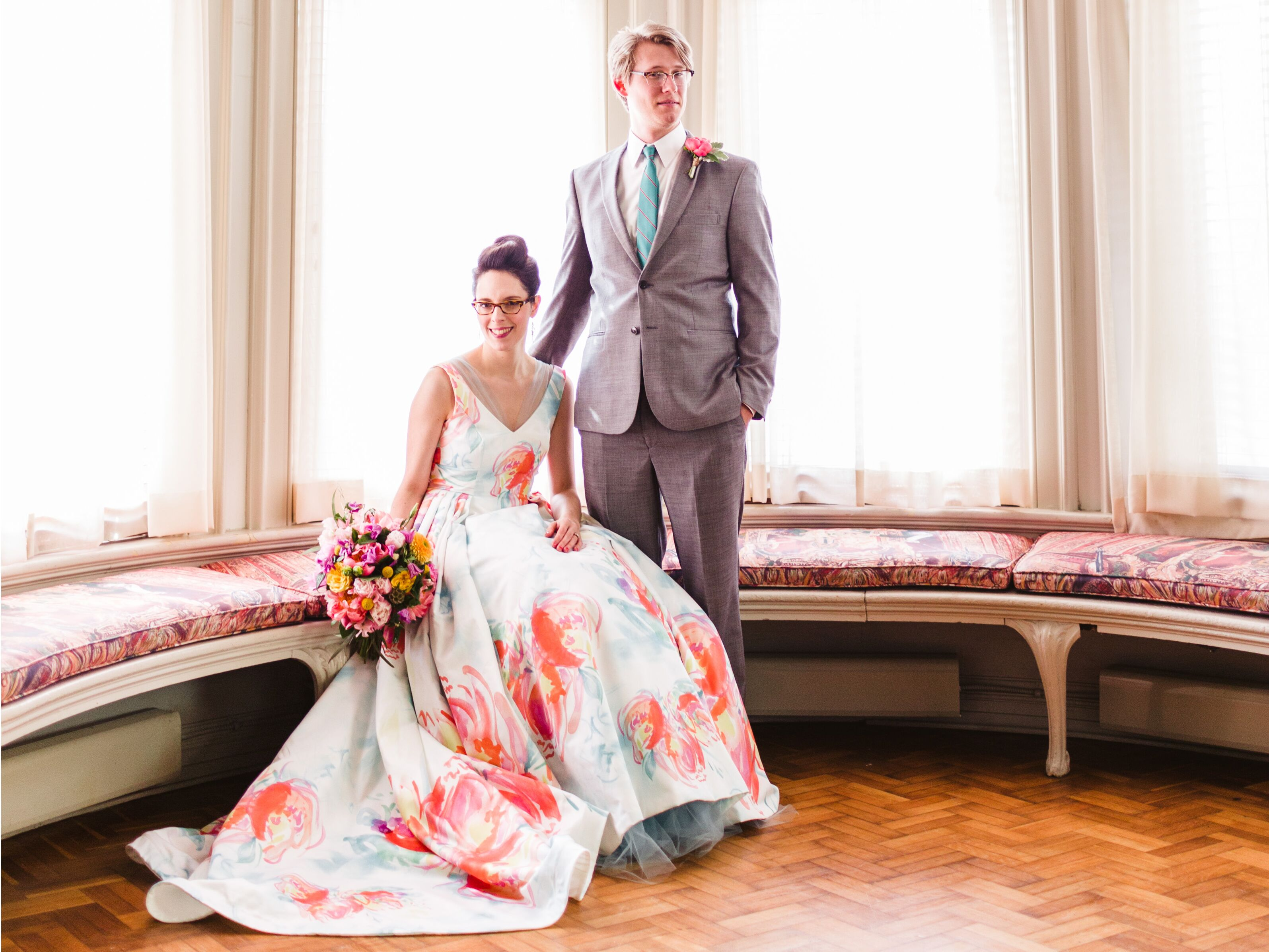 how to get a custom wedding dress colorful wedding dresses