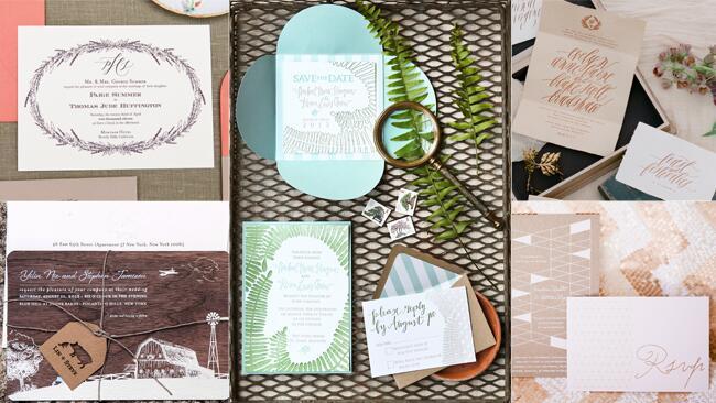 Fall Invitation Trend: Woodland Motifs