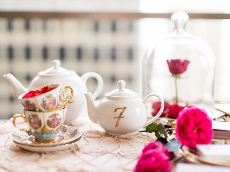 Beauty and the Beast teacups