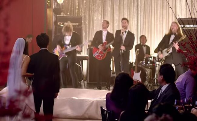 Maroon 5 Crashed Weddings For Their New Sugar Music Video