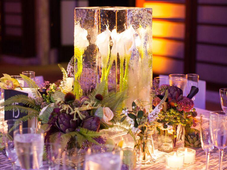 Modern romantic wedding centerpieces imgarcade