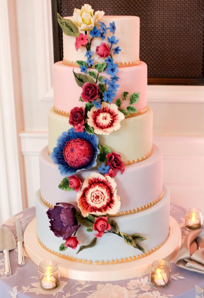 King Protea Cake