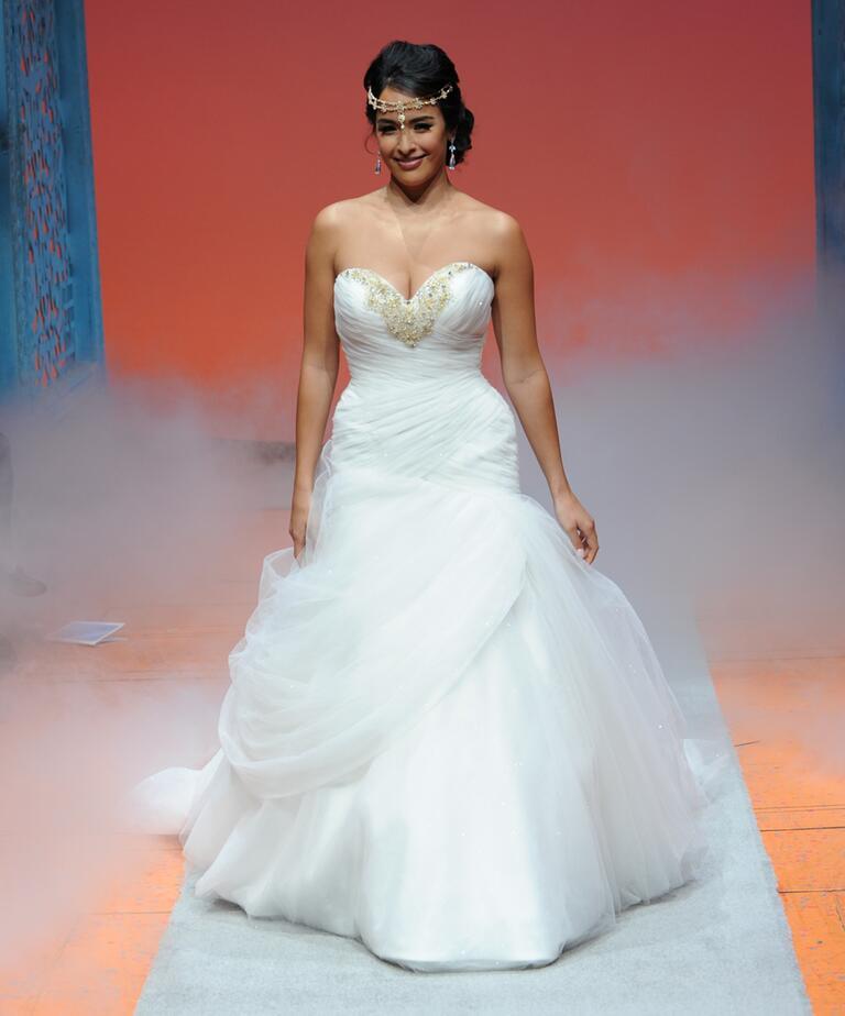 Disney Fairy Tale Weddings By Alfred Angelo Bridal Fashion Week Photos